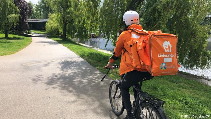 Miguel takes the scenic route by the Spree River in Berlin - but his location is being tracked the whole time