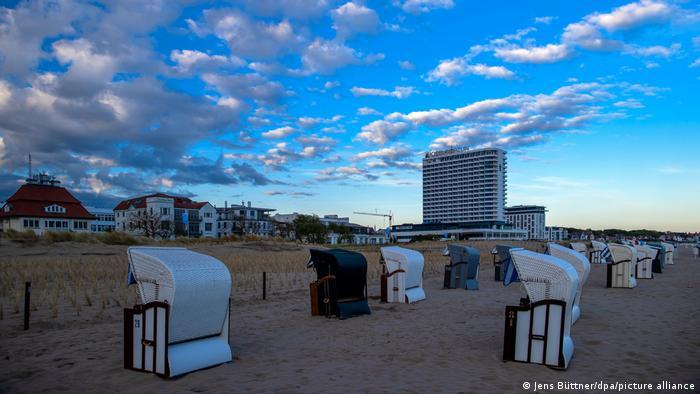 BdT   Strandkörbe an der Ostsee