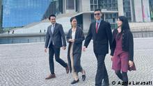 Berlin Praktikanten im Bundestag