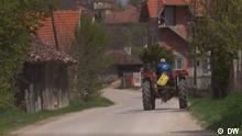 Serbien Dorfaufschwung
