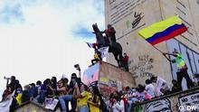Videostill |Sendung Fuerza Latina | Kolumbien Proteste