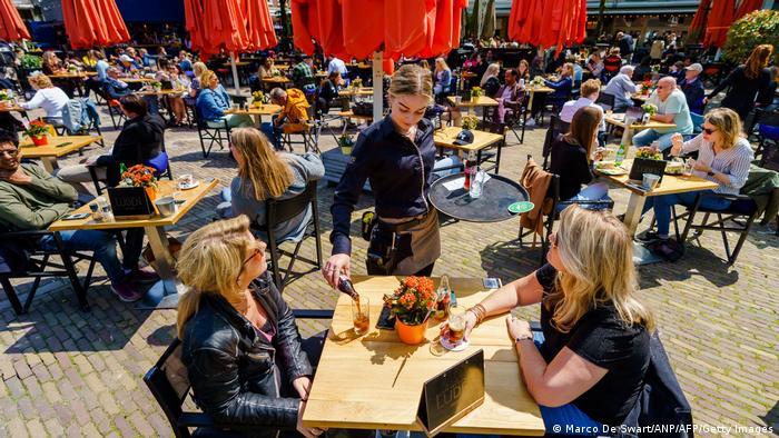 Niederlande Restaurants Eröffnung Außengastronomie