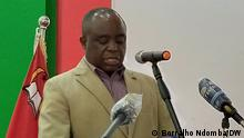 Angola, 28.05.2021+++Álvaro Chikwamanga Daniel - Generalsekretär der UNITA. (c) Borralho Ndomba / DW