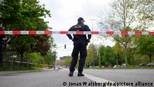 Deutschland Mann bei Polizeieinsatz in Hamburg erschossen