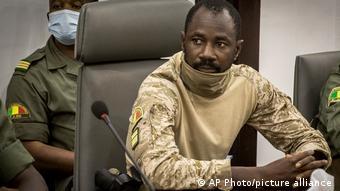 Mali Oberst Assimi Goita, neuer Übergangspräsident
