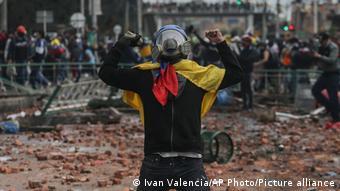 Kolumbien Proteste gegen Regierung