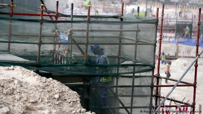 Katar | Bauarbeiten am Al-Wakra Stadion in Doha