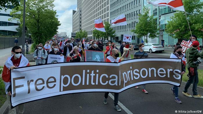 Deutschland | Protest gegen den belarussischen Präsidenten Lukaschenko