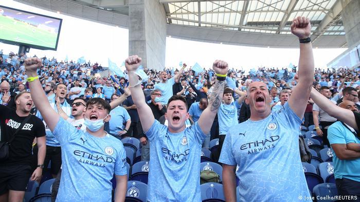 Champions League final Manchester City vs Chelsea in Porto