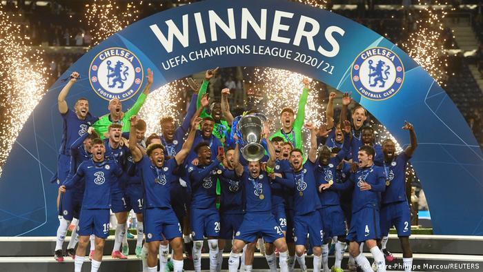 Челси стал победителем Лиги чемпионов УЕФА