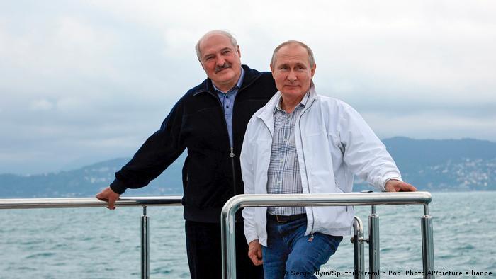 Putin and Lukashenko