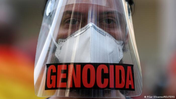 Brasilien Rio de Janeiro | Proteste gegen Präsidenten | Jair Bolsonaro