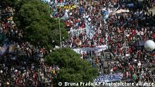 Brasilien Rio de Janeiro | Coronavirus | Proteste