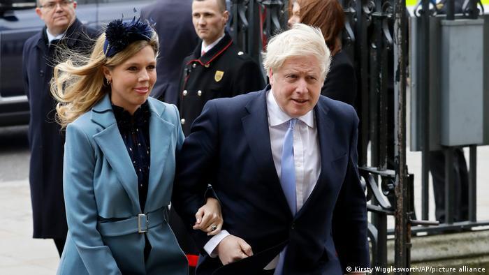 Großbritannien Carrie Symonds und Boris Johnson