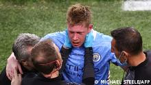 Portugal Porto   UEFA Champions League Finale   Kevin De Bruyne Verletzung