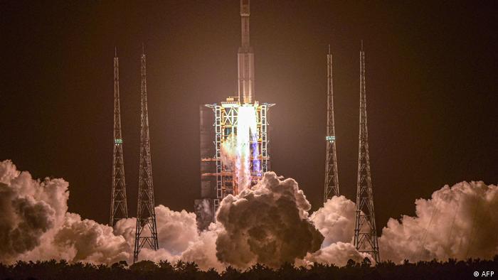 Запуск китайського космічного вантажного корабля Тяньчжоу-2