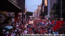Brasilien São Paulo   Proteste gegen Präsident Bolsonaro