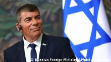 Israel Außenminister Gabi Aschkenasi