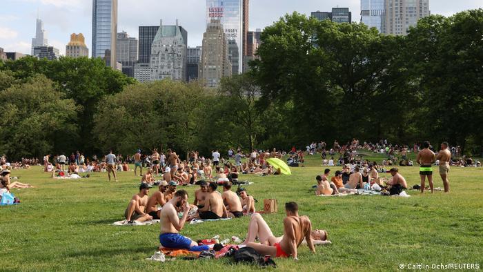 USA | Coronavirus | Central Park in New York City
