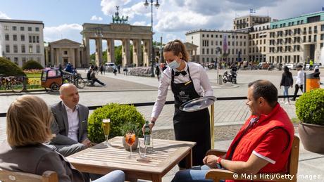 Deutschland | Coronavirus | Restaurant in Berlin