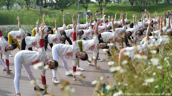 China | Coronavirus | Yoga in Nanjing