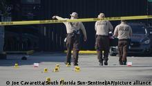 USA Schießerei in Miami
