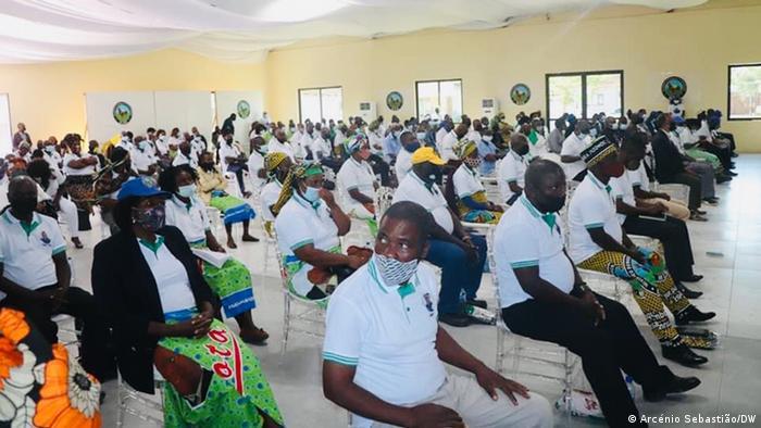 Mosambik Parteiversammlung MDM