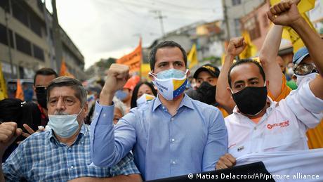 Venezuela Oppositionsführer Juan Guaido