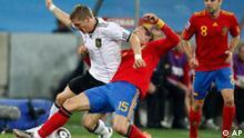Fußball WM 2010 Südafrika Halbfinale Deutschland Spanien