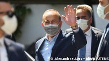 Griechenland Besuch Außenminister Mevlüt Cavusoglu