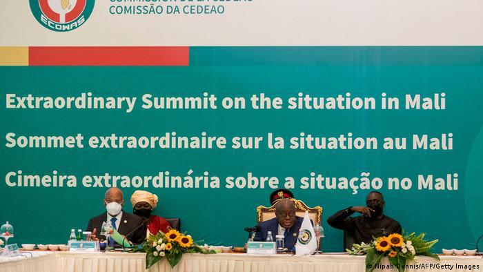 Ghana Accra| ECOWAS zur Lage in Mali | Nana Akufo-Addo