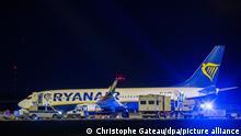 Außerplanmäßige Landung am Flughafen BER
