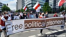 Belarusian opposition gets a hand from allies in Germany