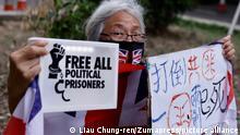 Hongkong Protest Grandma Wong