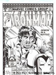 Un cómic de Iron-Man de 1979.