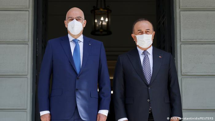 Ελλάδα, υπουργοί Εξωτερικών, Δένδιας, Τσαβούσογλου