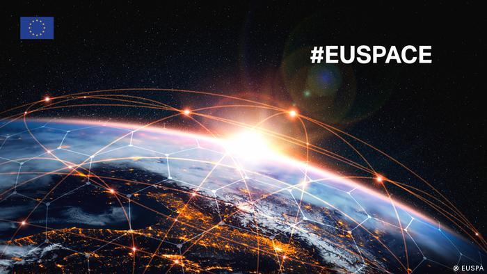 Реклама нового агентства EUSPA