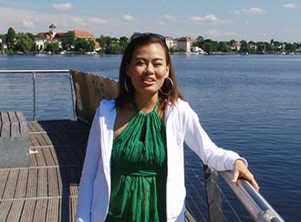 Sophie Tang an der Havel