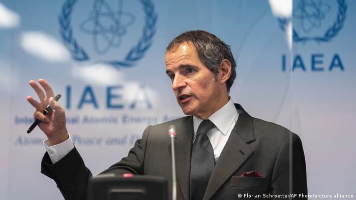 رافائل گروسی میگوید، ایران به پرسشهای آژانس پاسخ نداده و مانع بازرسیهاست