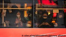 Iran Teheran Straßenszene vor der Präsidentschaftswahl