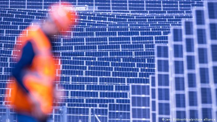 BdT   Deutschland   Photovoltaik-Park liefert Strom für die Deutsche Bahn