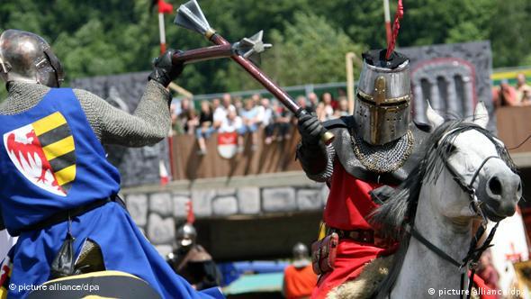 Современный рыцарский турнир