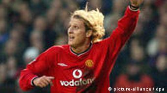 Diego Forlan as a Manchester United player