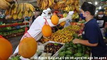 Indonesien Coronavirus | Batam Stadtmarkt