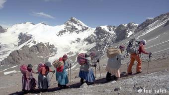 DW Dokumentationen   Bolivien - Fünf Gipfelstürmerinnen
