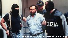 Italy, Agrigento (Sicily) May 20, 1996 The arrest of the mafia boss Giovanni Brusca by Italian special forces