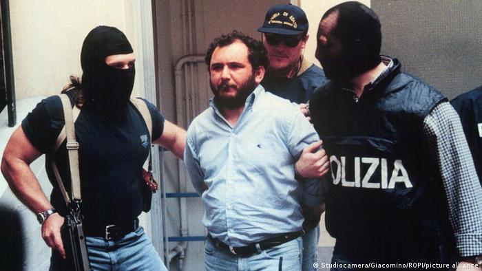 Italien | Verhaftung Giovanni Brusca im Jahr 1996