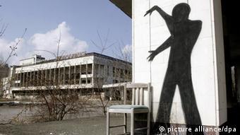 Pripyat Prypyat Pripjat Tschernobyl Ukraine Stadt Atomkraftwerk Evakuierung