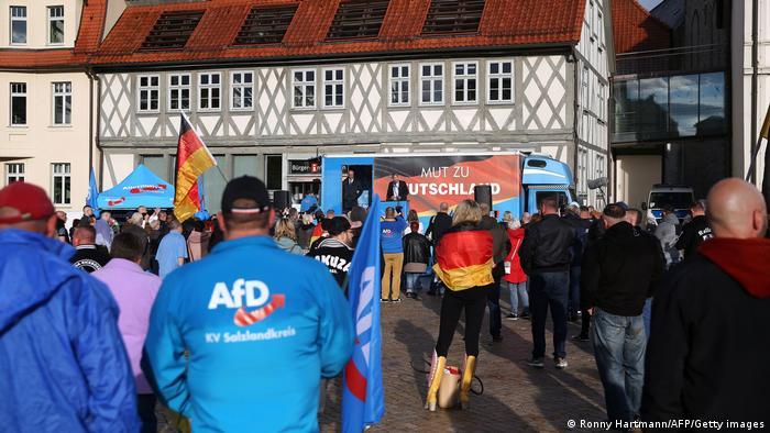 Deutschland | Landtagswahl in Sachsen-Anhalt | AfD