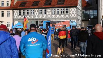 Встреча с избирателями председателя отделения АдГ в Тюрингии Бьорна Хёке